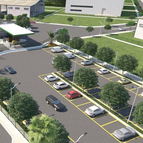 condominio-industrial-fazenda-rio-grande-green-company-estacionamento