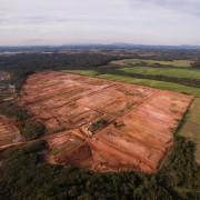 Vista aérea de lotes na Fazenda Rio Grande | Green Portugal